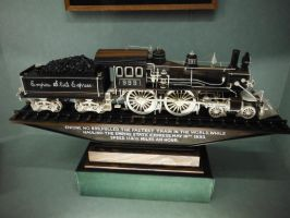 Master Carving of NYCHRRR 999 by SteamRailwayCompany