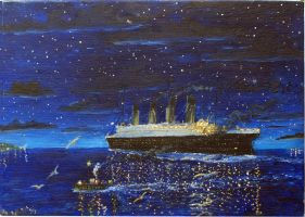 RMS Titanic, 1912 by rhill555