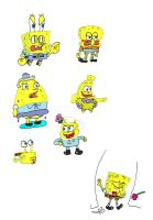 Spongebob Impressions by TaRtOoN-Man94