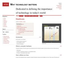 Why Technology Matters Wiki by weyforth