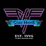 Cody Hawk 'Van Halen' t-shirt design by MarkG72