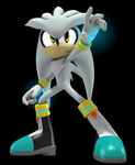 Silver the hedgehog 2013 by Argos90