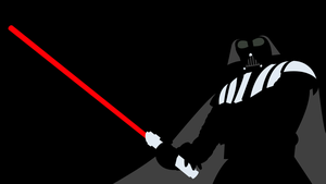[Request] [Vector] Minimal Darth Vader Wallpaper by Cheetashock