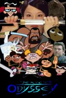 Another Collage Poster for Dexter's Odyssey by timbox129