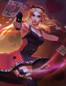 Alice in Wonderland - Action Movie by j-witless