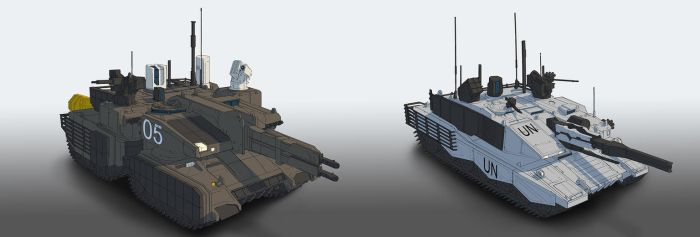Tanks by StTheo