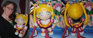 Eternal Sailor Moon 18'' Plushie by sakkysa
