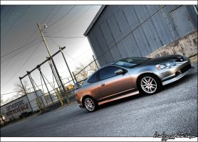 2002 Acura RSX-S HDR by bubzphoto