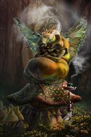 Caterpillar From Wonderland 2015 By Tera Lewis by spoofdecator