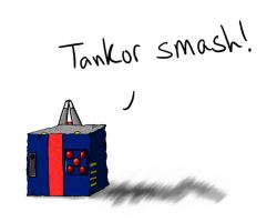 Tankor Cube by Shirobutterfly