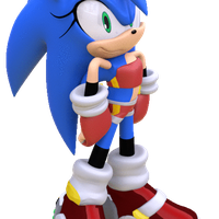 Sonii the Hedgehog Waiting by ModernLixes