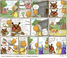 PKMNC Senri's Adventures in Pokette Town 5 by SilkenCat