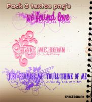 Pack 3 textos png's by spaceboound