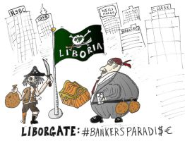 Liborgate and the pirate bankers of Liboria by optionsclickblogart