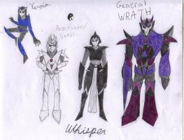 TF Story OCs by Redrosesforever