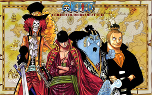 one piece character tournament 2013 4th round wins by DOR20