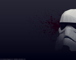 Trooper [low poly] by Agraffkowa