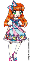 Molly LOLITA OUTFIT DESIGN COMMISSION by sekaiichihappy