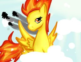 I'll Make a Pegasus Out of You: Spitfire MLP by KairiChizuruChan