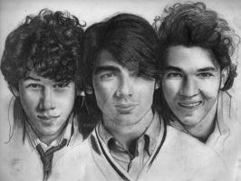 Jonas Brothers WIP5 by Brooque613
