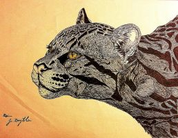 Cougar (distance) by Dyingdiver
