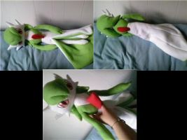 gardevoir  plush by LRK-Creations