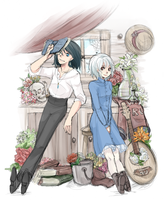 Howl's Moving Castle by nolleny