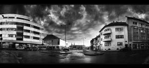 Hungarian cityscapes pt.XII.BW by realityDream