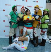 AX 2012: Skyward Sword Group by InvaderSonicMx