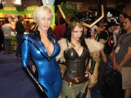 Female Loki and Sue Storm by pikaman206