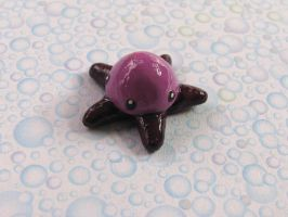Purple Pentapus by candymonsters
