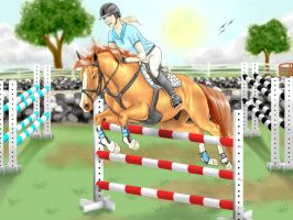 Expression Show Jumping Training by Nawaii