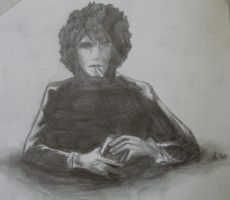Syd with cigarettes by psychedelic-cookie