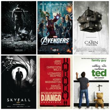 Top 6 Movies of 2012 by HenriDucard2189