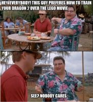 Nobody cares HTTYD2 vs TLM by thearist2013