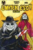 Puppet Master sketch cover commission by mdavidct