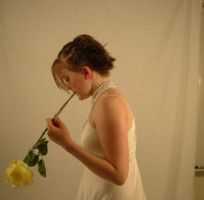 Katie and Flowers 4 by jilldeub