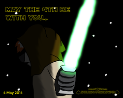 May the 4th 2014 by JWthaMajestic