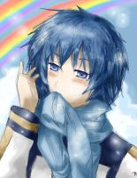 Kaito - double rainbow so intense xO by Franziloni