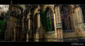 St Lukes Church Liverpool by leeislee