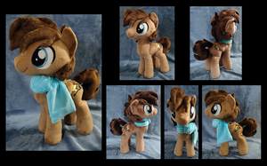 Bolty :OC Plushie Commission: by AppleDew