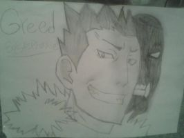 Fullmetal Alchemist Greed by monkee426