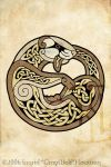 Celtic Ferret by Illahie