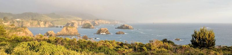 Central California Coastline by PamplemousseCeil