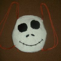 Jack Skellington Head Backpack by IkuniHattori