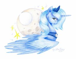 Princess of the Moon by SkyAircobra