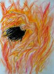 Arien the Naked Flame by MirachRavaia