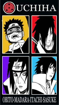 Uchiha Bros by invincible015