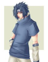 Sasuke Uchiha by Fall-msc