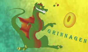 Sketchy Refs:  Grinnagen by Claws-and-Paws